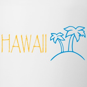HAWAII - SIMPLE - Tofarvet krus