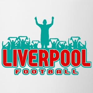 Liverpool football - Kubek dwukolorowy
