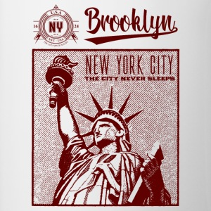 New York City · Brooklyn - Tasse zweifarbig