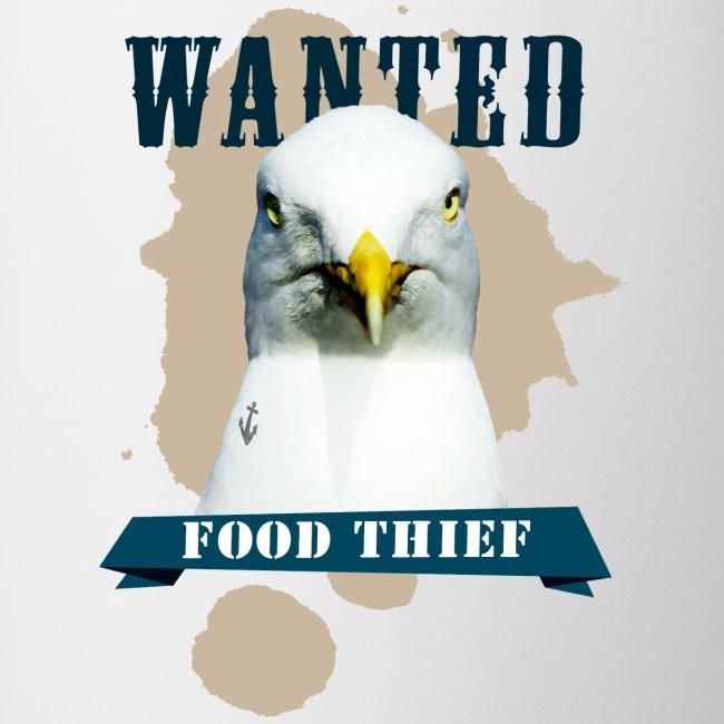 WANTED - FOOD THIEF