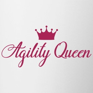 AGILITY QUEEN - Contrasting Mug