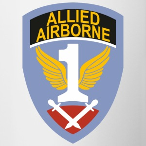 Prima Allied Army Airborne - Tazze bicolor