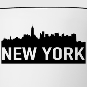 NEW YORK - Mok tweekleurig