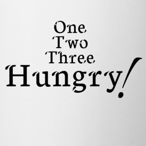 hungry! - Mok tweekleurig