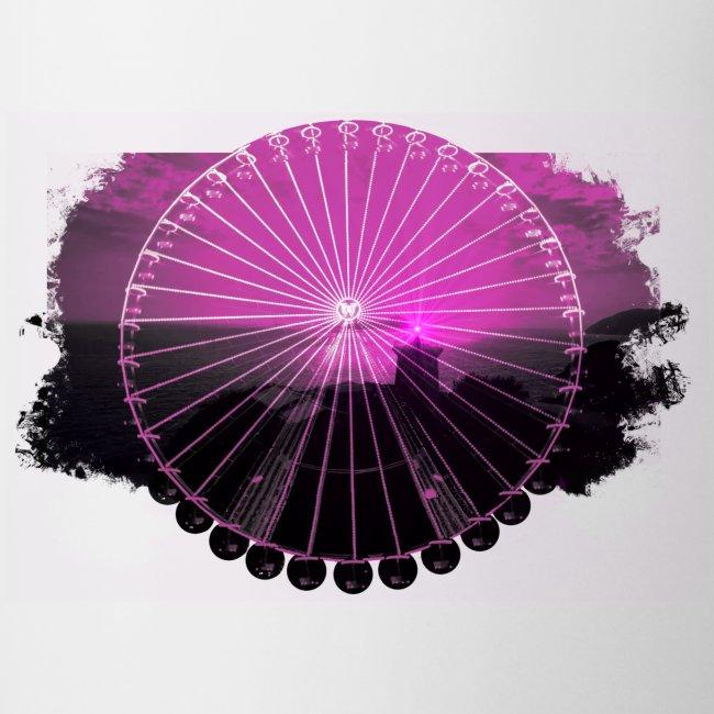 Ferris Wheel (magenta)