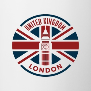 United Kingdom - Union Jack Flag - Contrasting Mug