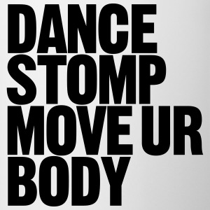 Danse Stomp Déplacer Ur Body - Tasse bicolore