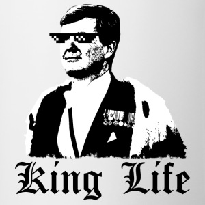 KING LIFE - Mok tweekleurig