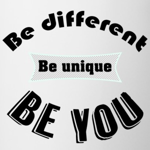 T - Be You - Mok tweekleurig