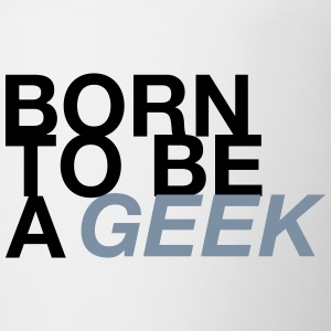 BORN GEEK - Tasse bicolore
