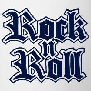 Rock n Roll - Mok tweekleurig