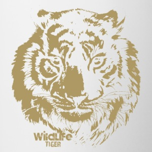 Wildlife · Tiger - Contrasting Mug