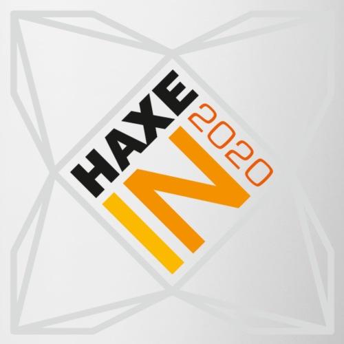 HaxeIN 2020 - Silver Frame - White Mugs - Mug contrasté