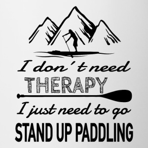 NO Therapy needed - SUP heals - Contrasting Mug