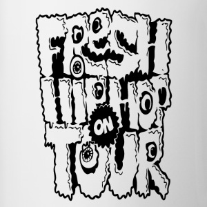 Fresh Hip Hop On Tour - Tasse bicolore