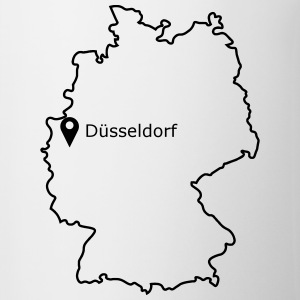 Place to be: Dusseldorf - Mok tweekleurig