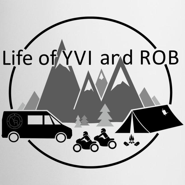 Life of YVI and ROB Logo