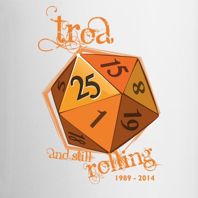 TRoA 25 år - Gul terning