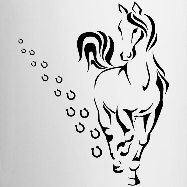 Vorschau: HORSEWALK - Tasse zweifarbig