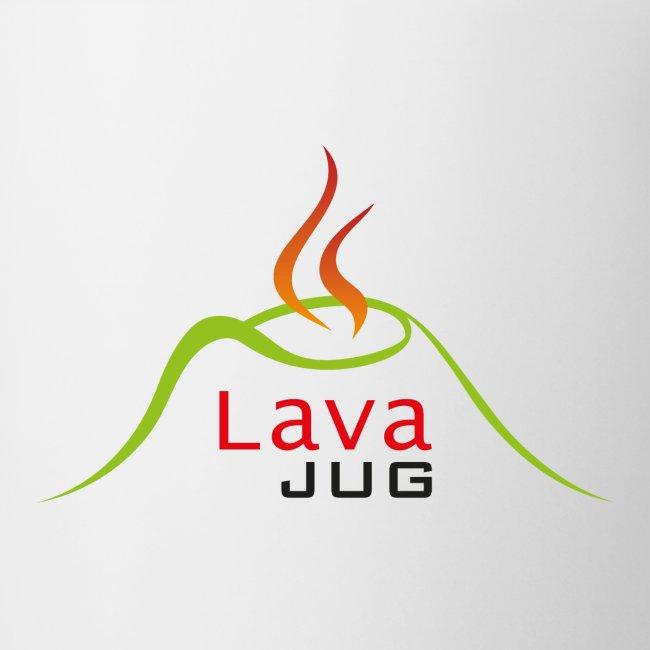 logo lavajug black