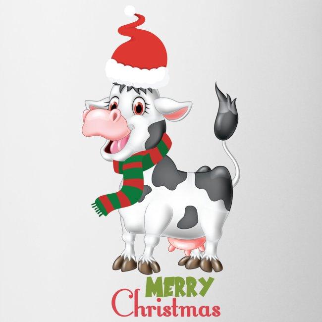 Merry Christmas - cow