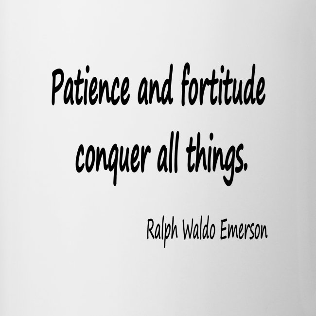 Peace and Patience