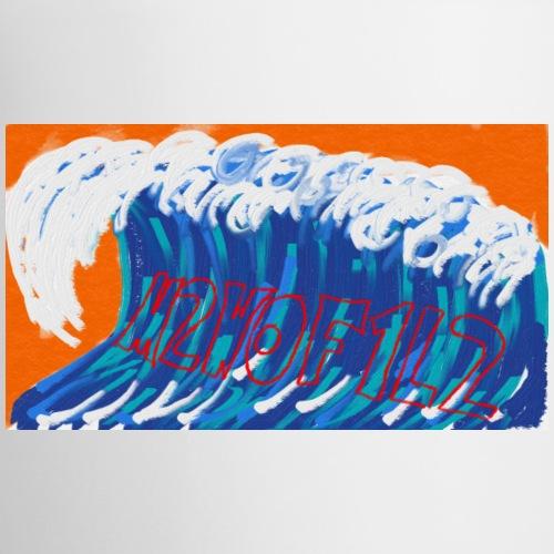 wave2 logo - Contrasting Mug