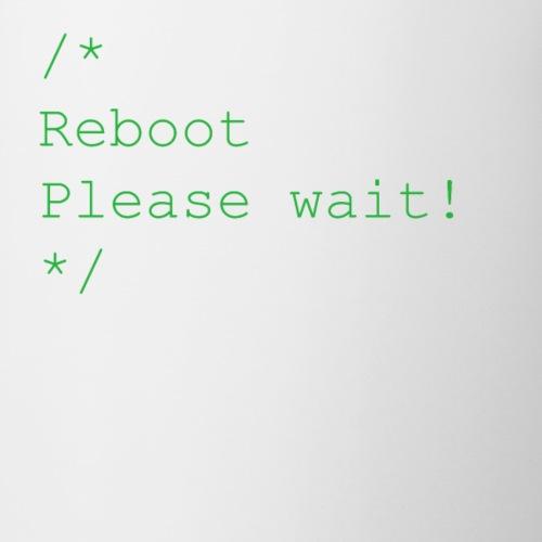 Reboot - Tasse