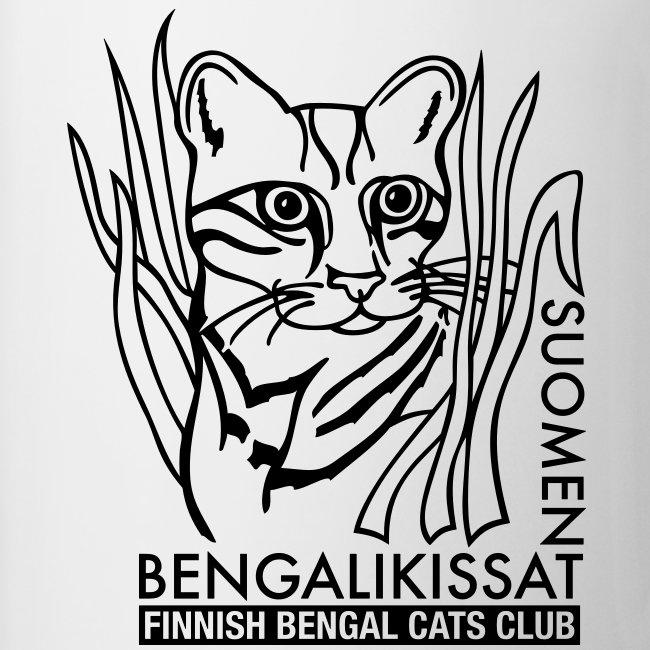 Bengalilogo yksivärinen