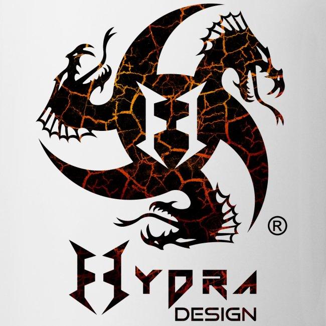Hydra Design - logo Cracked lava