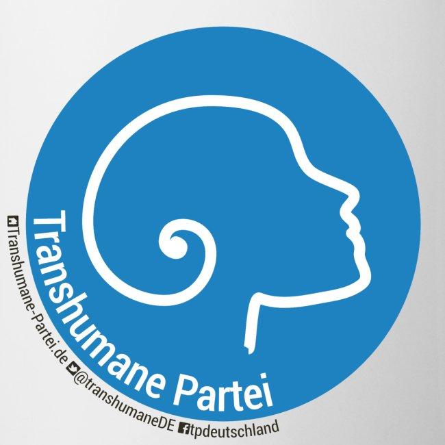 TPD Logo & Social + Weiß