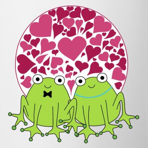 Frogs in love - Mug