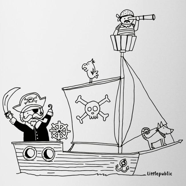 piratenschiff bilder zum ausmalen  malvorlagen