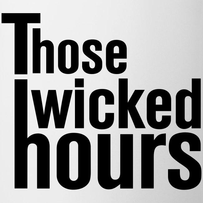TWH Logo Black