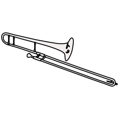 trombon blanco - Taza