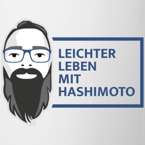 leichter leben mit hashimoto slogan v03 - Tasse
