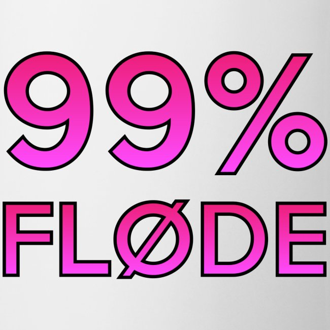 99% FLØDE KOPPEN