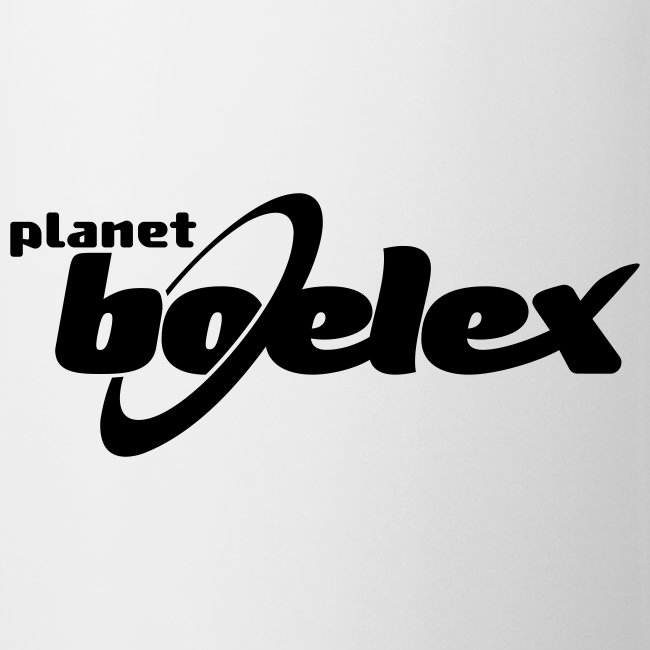Planet Boelex v logo white