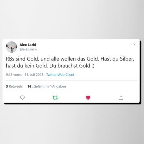 Tweet Gold Schatten - Tasse