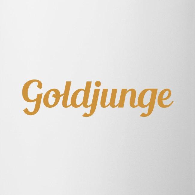Goldjunge Schriftzug | Tasse