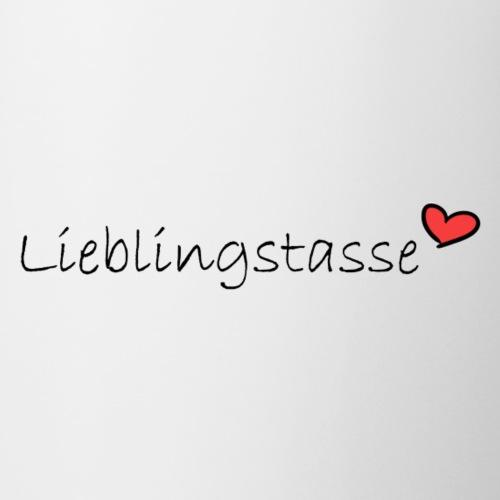 Lieblingstasse - Tasse