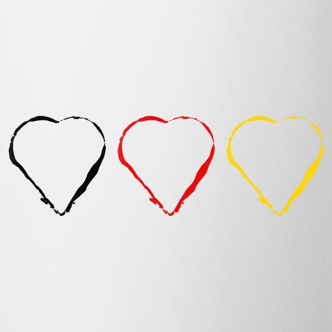 3 Herzen Deutschland #1