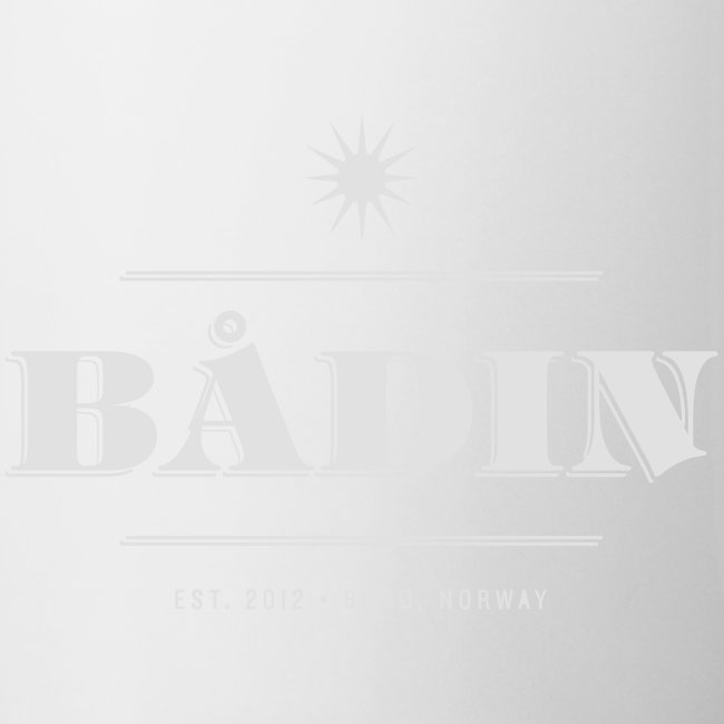 Bådin - white