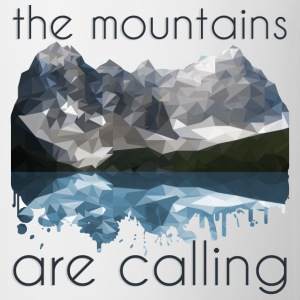 the mountains are calling - Mug