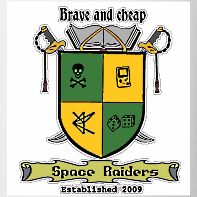 space raiders coat of arms