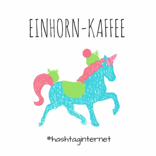 einhorn Kaffee unicorn - Tasse