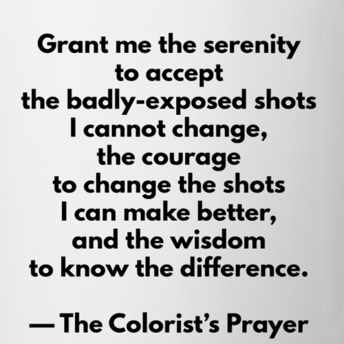 The Colorist's Prayer Mug - Mug