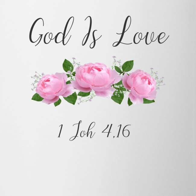 Gott ist Liebe Christliche Tshirt Geschenke Jesus