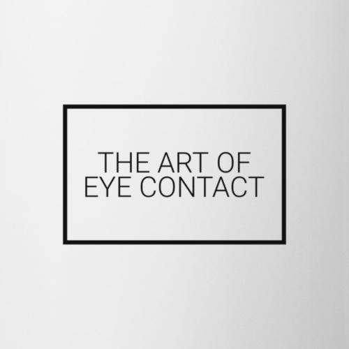 Lottie Tomlinson 'the art of eye contact' - Mug