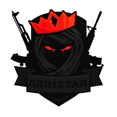 Grimztar Logo - Mugg